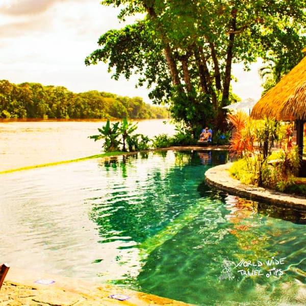 Tortuga Lodge and Gardens pool