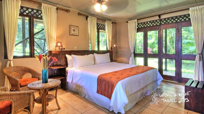 Tortuga Lodge and Gardens room