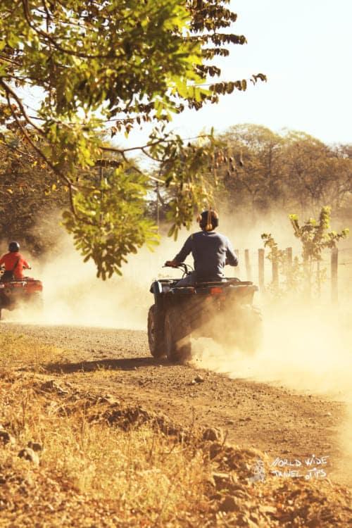 Driving ATV Costa Rica 4x4