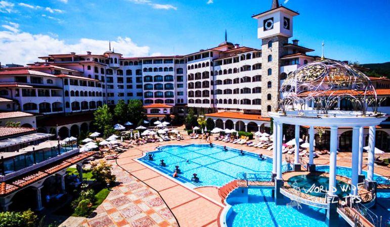 Helena Sands Hotel Hotels on Sunny Beach Bulgaria