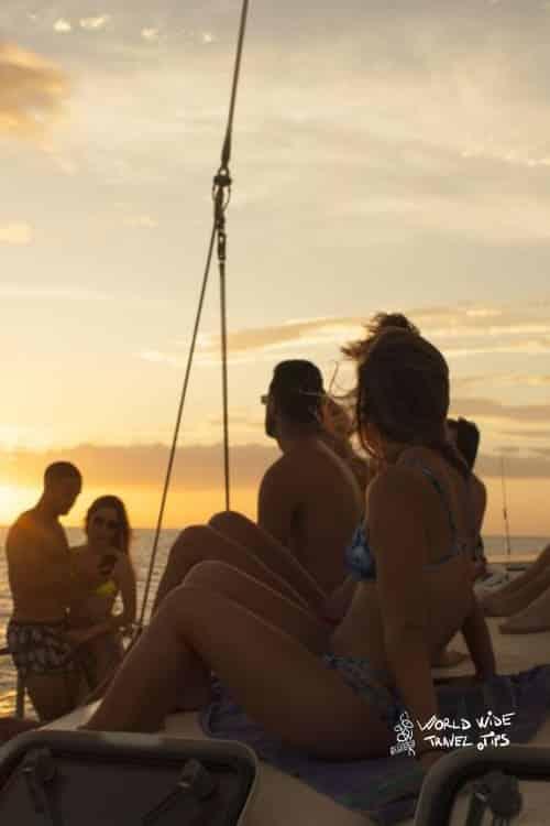 Playa Tamarindo Sunset Sailing and Snorkeing Tour