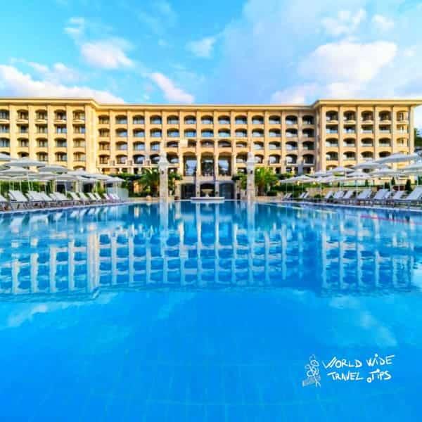 Astor Garden Hotel in St Constantine and Helena