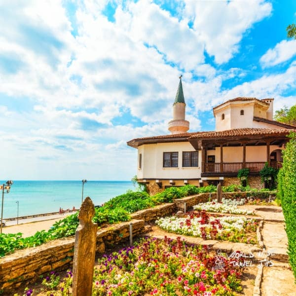 Balchik Castle of Romanian Queen Marie Bulgarian Black Sea Coast