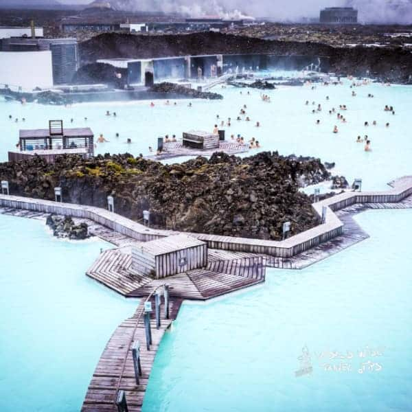 Blue Lagoon during Covid Iceland
