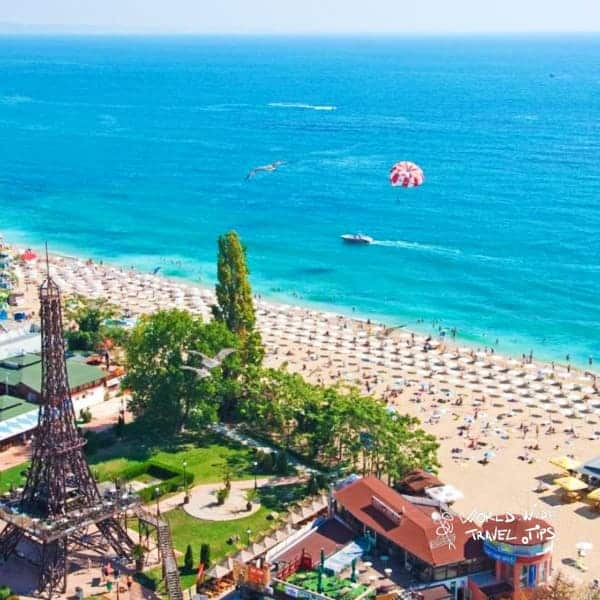 Golden Sands International Hotel Casino Bulgaria Beach