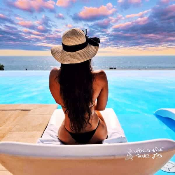 Golden Sands International Hotel Casino and Tower Suites Private Pool Sunbed